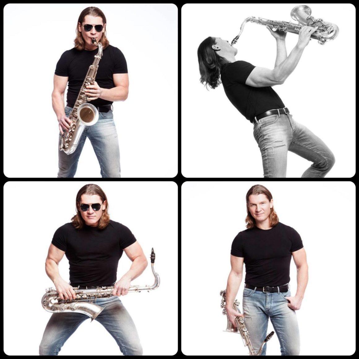 Saxophonist Oleg